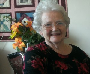 Hazel Heisey at her 90th Birthday Party