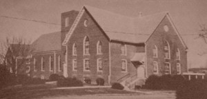 1953 College Street Church (photo from Brethren in Bridgewater, by Roger E. Sappington, 1978)
